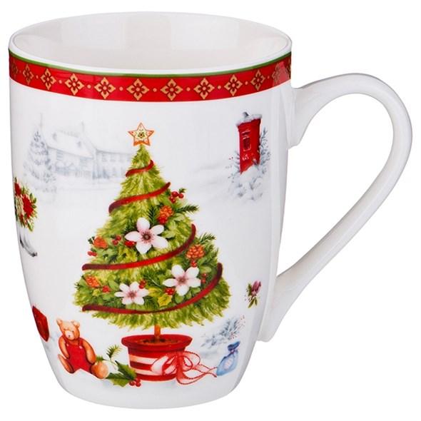 "Кружка ""Новогодняя елка"" 300 мл - фото 21994"