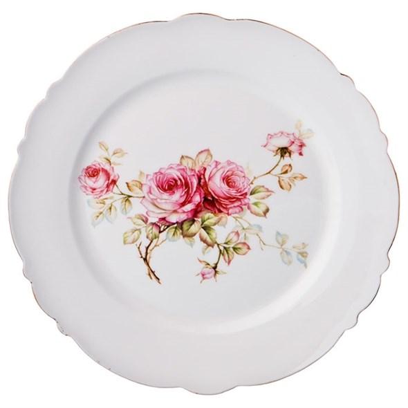 """Тарелка """"Розы"""" 20 см - фото 22715"""