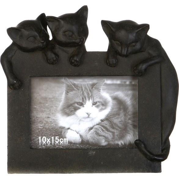 """Фоторамка """"Коты"""" для фотографии 10х15 см - фото 22731"""