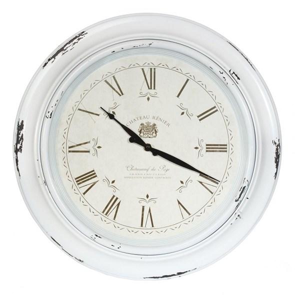 Часы настенные состаренные диаметр 46 см - фото 22854