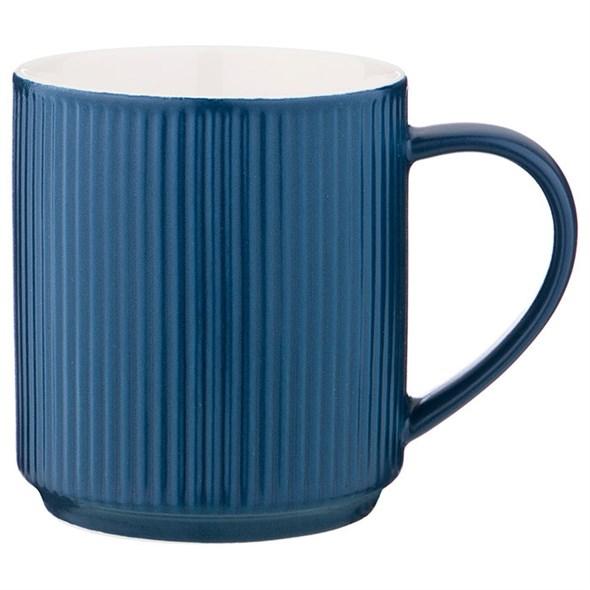 Кружка синяя 300 мл - фото 22888