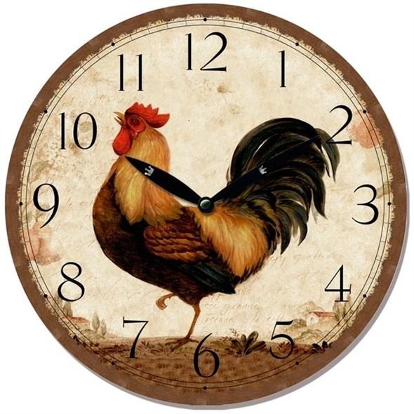 """Часы настенные """"Петушок"""" - фото 22920"""