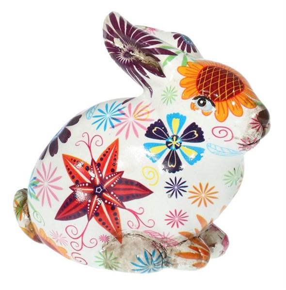 """Статуэтка """"Цветочный кролик"""" - фото 22928"""