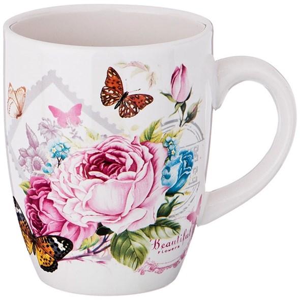 """Кружка """"Прекрасные цветы"""" 300 мл - фото 22965"""