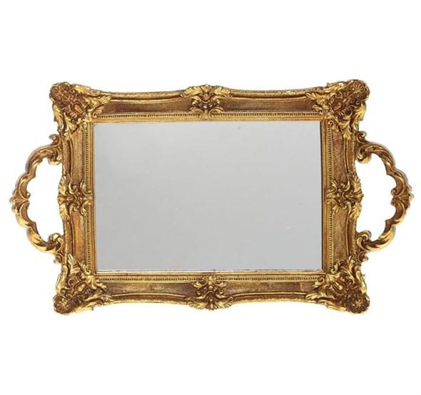Поднос зеркальный 32х19 см - фото 22975