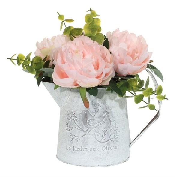 Цветы искусственные в кувшине - фото 22994