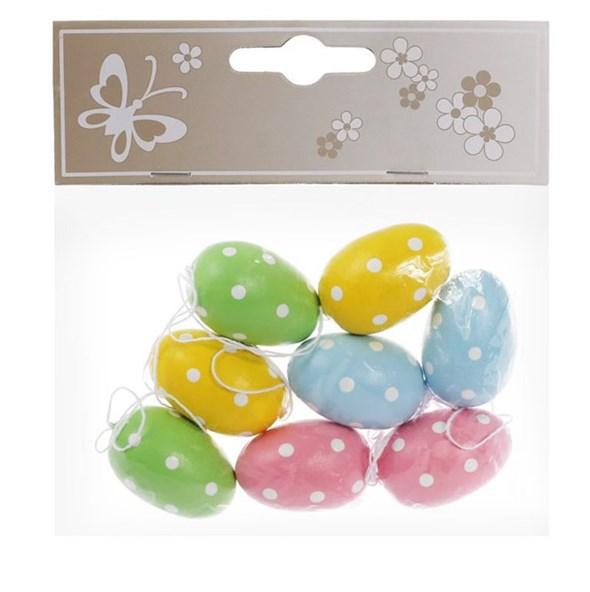 Набор пасхальных подвесных яиц - фото 23085