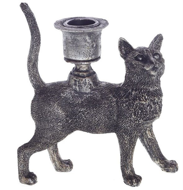 "Подсвечник ""Кошка"" - фото 23090"