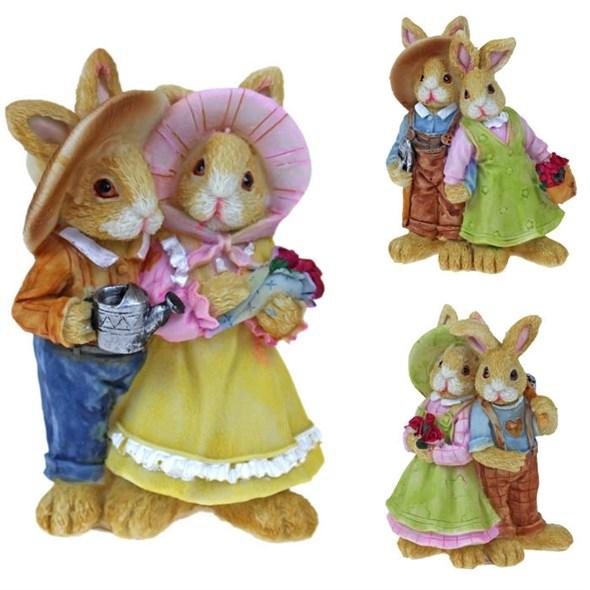 """Статуэтка """"Кролик и крольчиха"""", цена за штуку"""