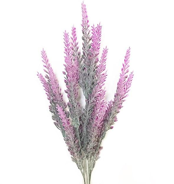 Лаванда искусственная розовая 35 см - фото 23500