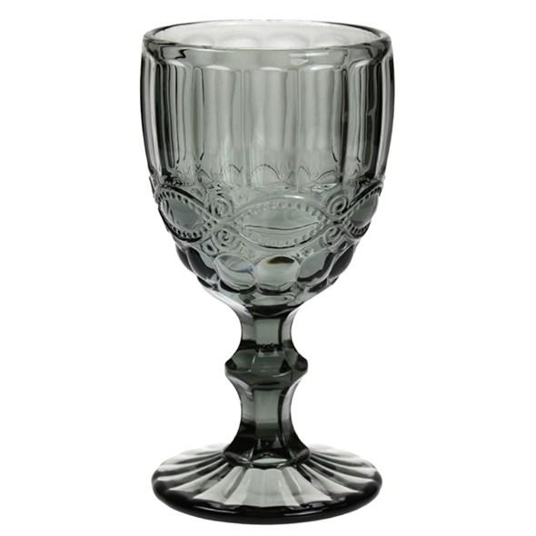 """Бокал """"Франция"""" серый 240 мл из цветного стекла - фото 23539"""