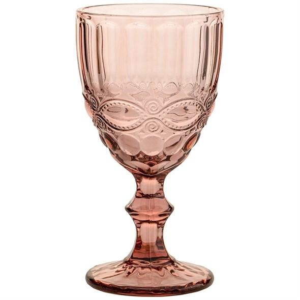 """Бокал """"Франция"""" розовый 280 мл из цветного стекла - фото 23772"""