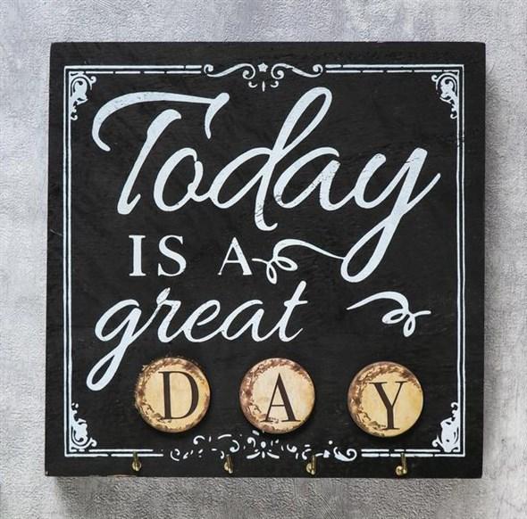 """Панно """"Сегодня великий день"""" с крючками - фото 23834"""