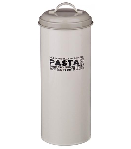 """Банка """"Спагетти"""" металлическая для сыпучих и хранения - фото 24346"""