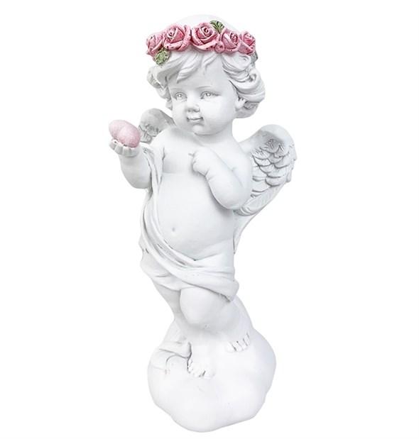 """Статуэтка """"Ангел с сердцем"""" 18 см - фото 24570"""