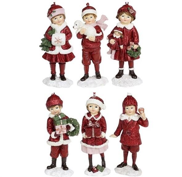 """Елочная игрушка """"Новогодние дети"""", цена за штуку - фото 25010"""