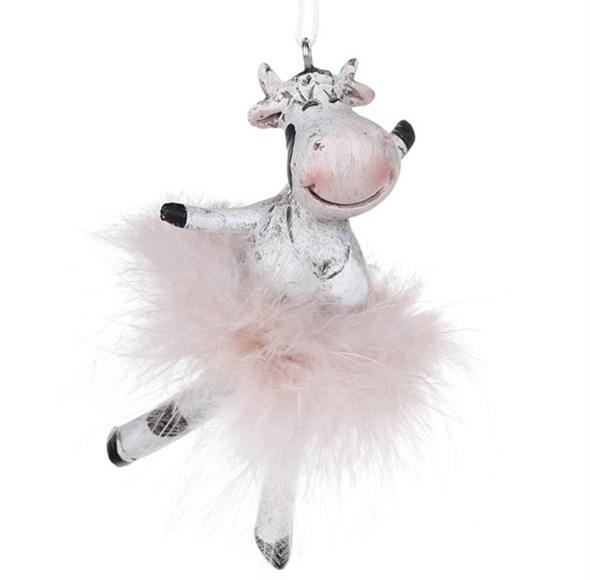 "Елочная игрушка ""Корова-балерина"" - фото 25326"