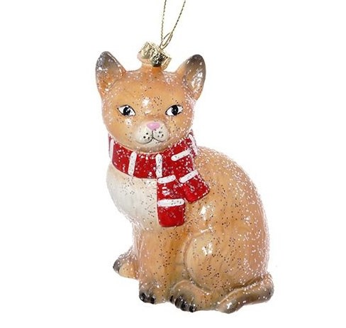 "Елочная игрушка ""Кошка"" - фото 25335"