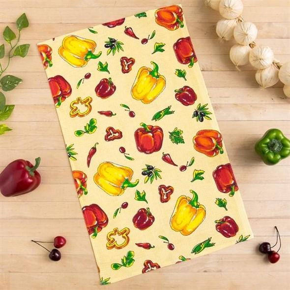 """Полотенце кухонное """"Овощи"""" - фото 25348"""