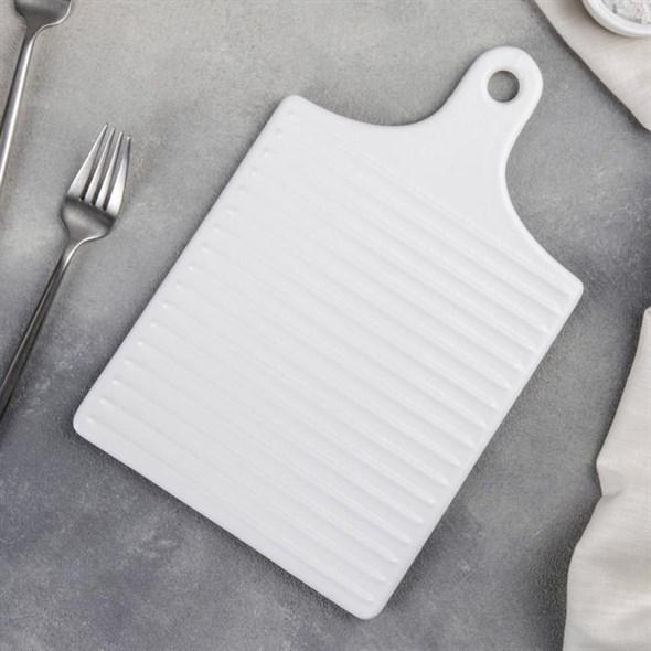 Блюдо керамическое для подачи 18*28 см - фото 25725