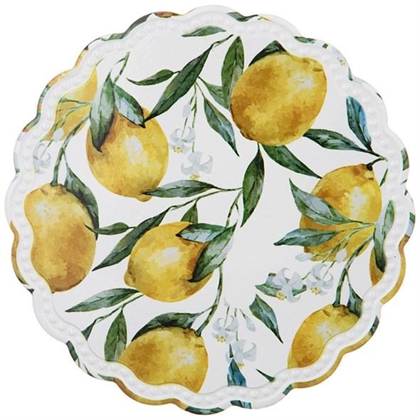 """Подставка под горячее """"Лимоны"""" 20 см - фото 25944"""