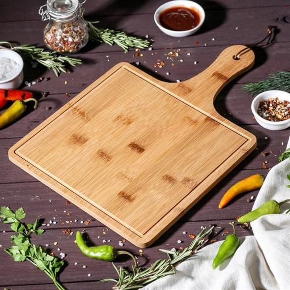 Доска деревянная для подачи 36х24 см - фото 26016
