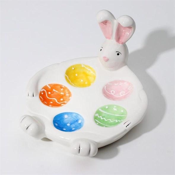 """Подставка для яйца """"Кролик"""" на 5 ячеек - фото 26316"""