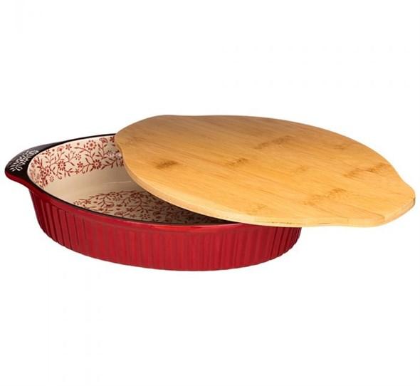 Блюдо для запекания с крышкой-подставкой - фото 26530