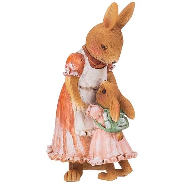 """Статуэтка """"Крольчиха и крольчонок"""" - фото 26680"""