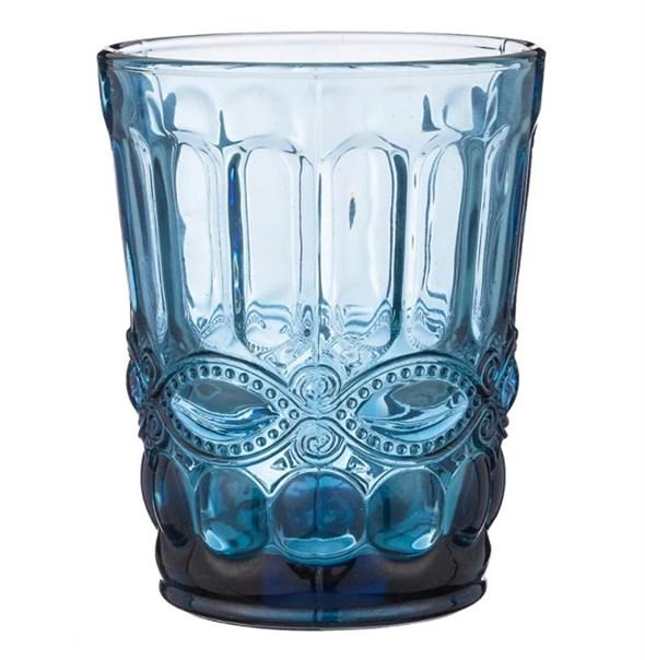 """Стакан """"Франция"""" 280 мл синий из цветного стекла - фото 26817"""