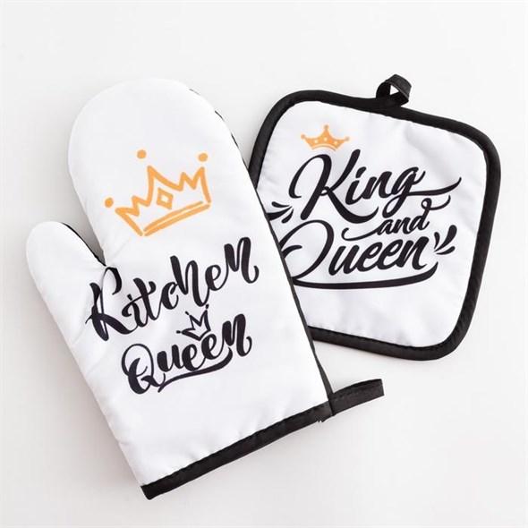 """Набор прихваток """"Королева кухни"""" - фото 26862"""