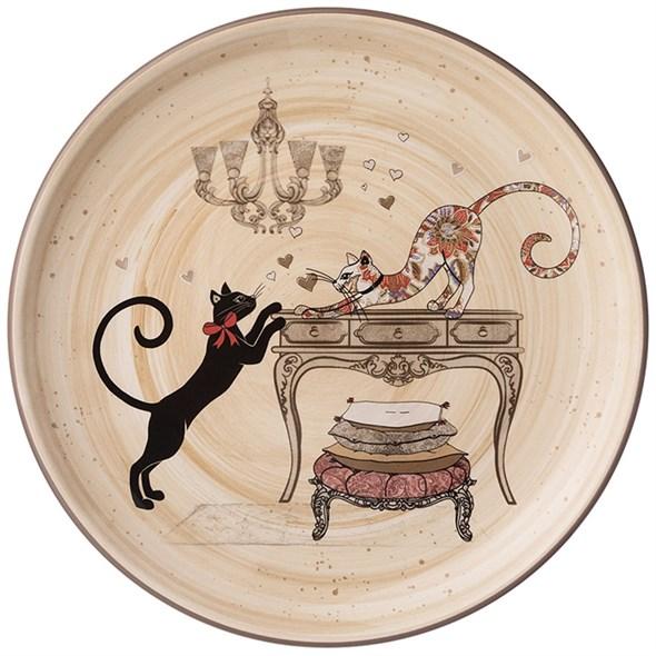 """Блюдо """"Парижские коты"""" 21 см - фото 26905"""