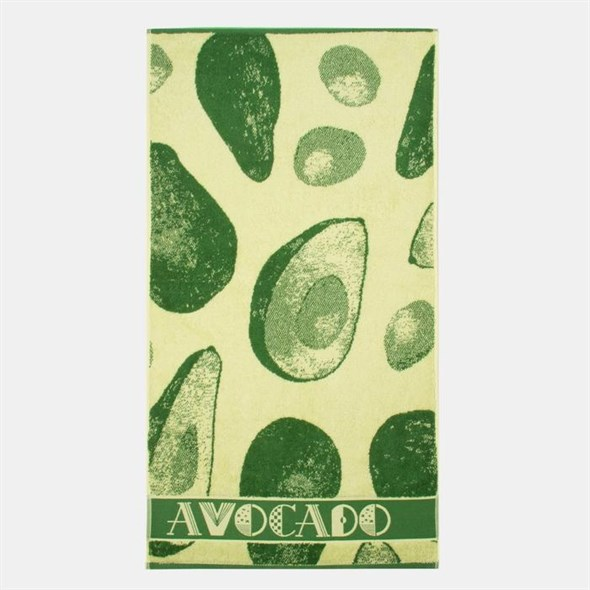 """Полотенце махровое """"Авокадо"""" 50х90 см - фото 26929"""