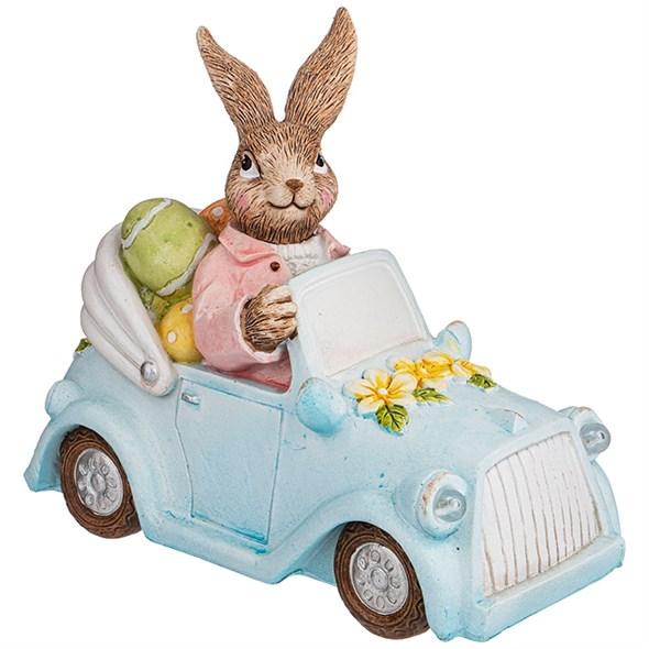 """Статуэтка """"Кролик на машине"""" - фото 27199"""
