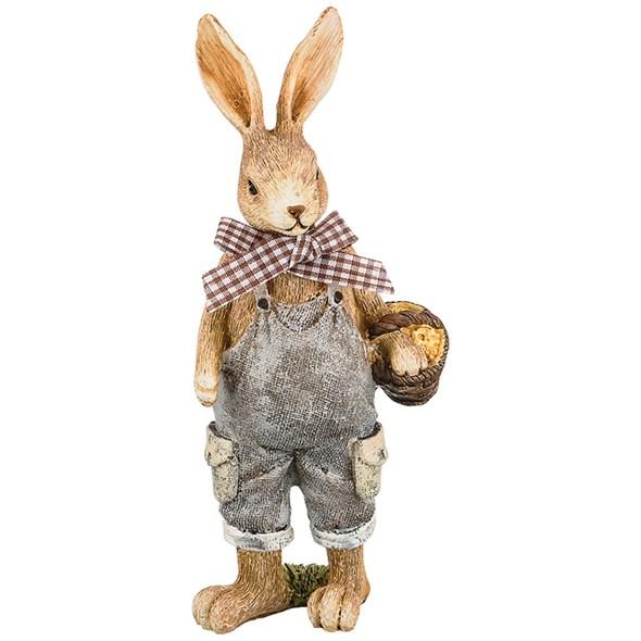 """Статуэтка """"Кролик с корзинкой"""" - фото 27204"""