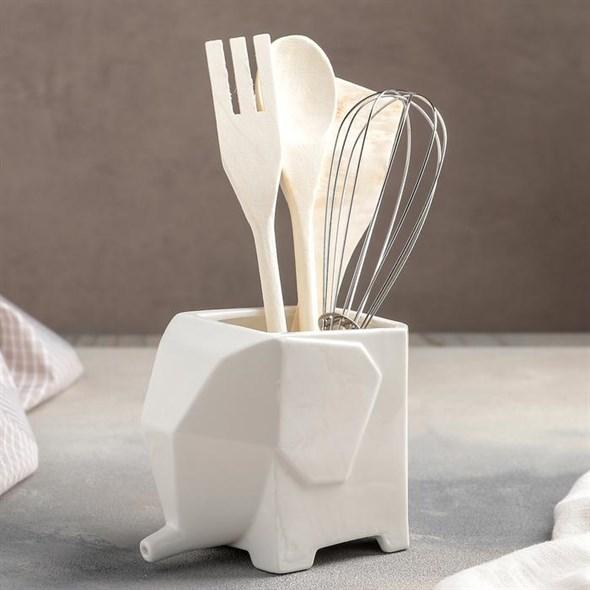 Подставка с кухонными приборами - фото 27326
