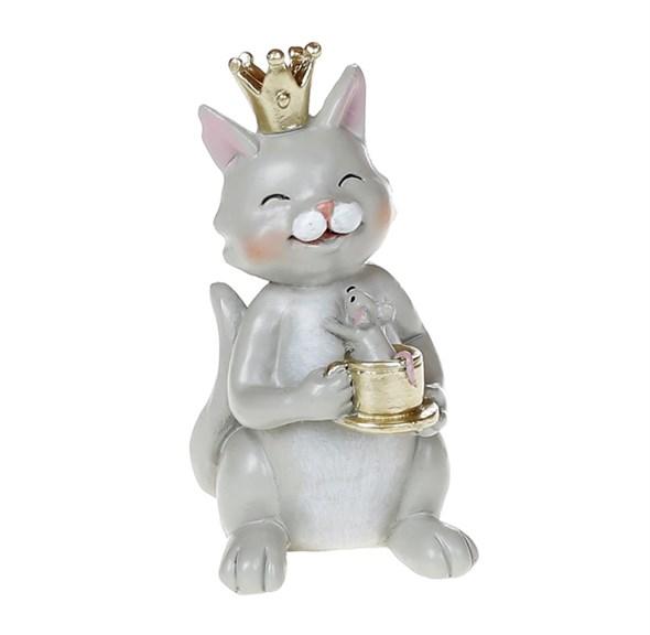 """Статуэтка """"Кот с мышкой"""" - фото 27380"""