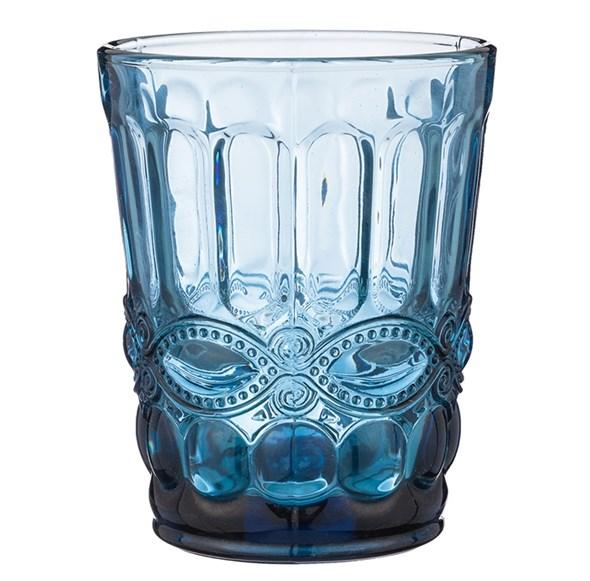 """Стакан """"Франция"""" 270 мл синий из цветного стекла - фото 27583"""