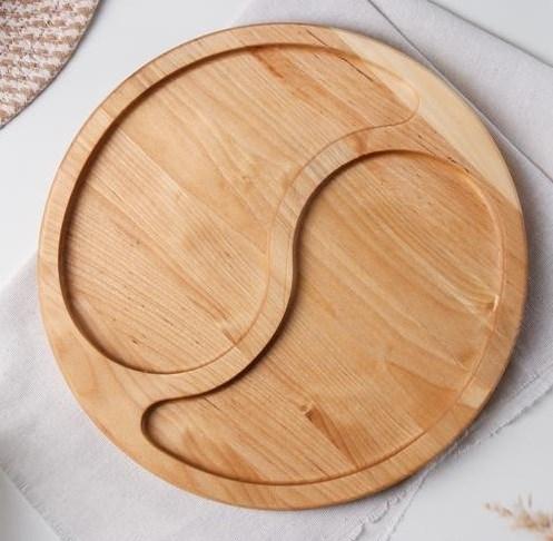 Менажница деревянная 27 см - фото 27671