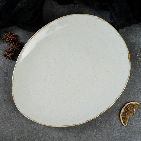 Тарелка для подачи 25х21 см - фото 27774