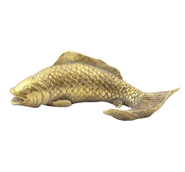 """Статуэтка """"Золотая рыбка"""" 18 см - фото 27784"""