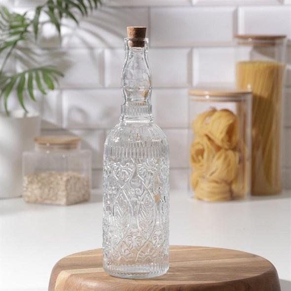 Бутылка узорная #2 800 мл - фото 28264