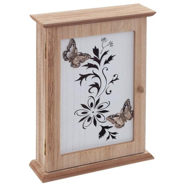 "Ключница ""Бабочки на цветах"" - фото 28834"