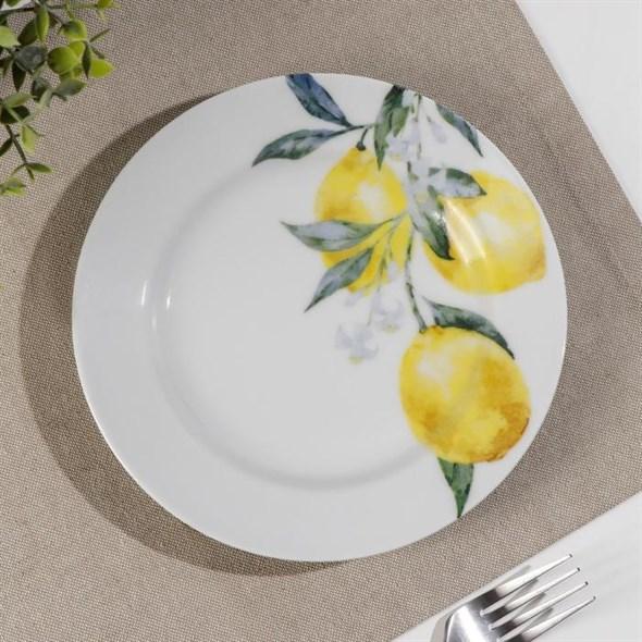 "Тарелка ""Лимоны"" 20 см - фото 29306"
