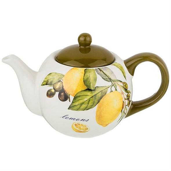"Чайник заварочный ""Лимоны"" 950 мл - фото 29381"