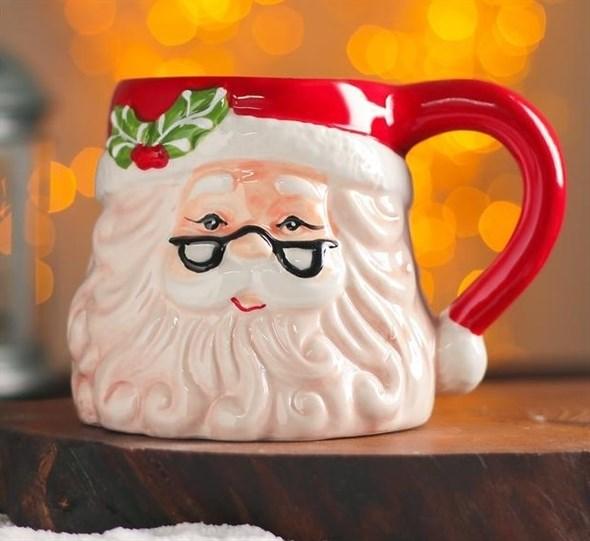"Кружка ""Дед Мороз"" 300 мл - фото 29413"