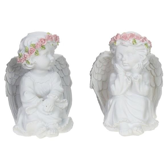 "Статуэтка ""Ангел сидящий, цена за штуку - фото 29454"