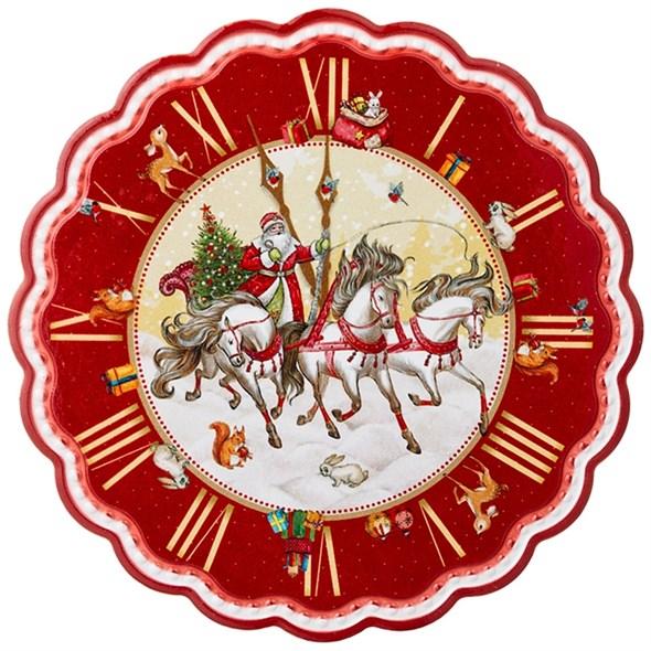 """Подставка под горячее """"Дед Мороз на тройке"""" - фото 29468"""