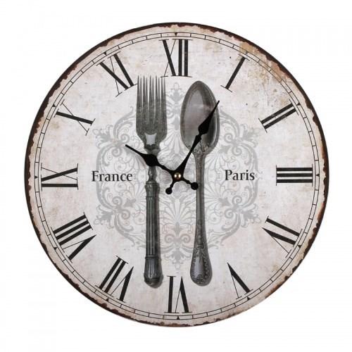 """Часы настенные """"Столовые приборы"""" - фото 6390"""