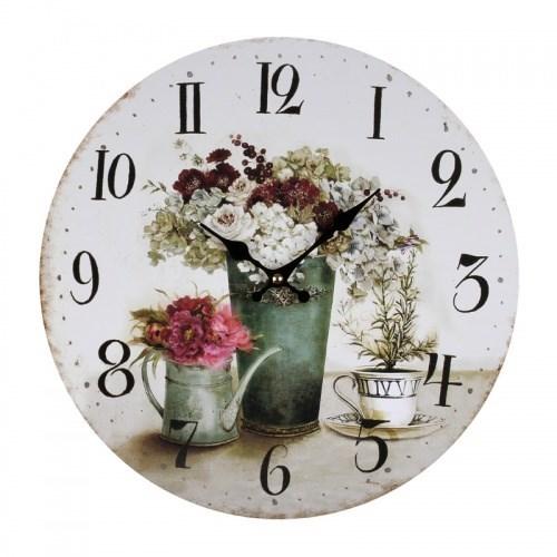 """Часы настенные """"Цветы"""" - фото 6502"""